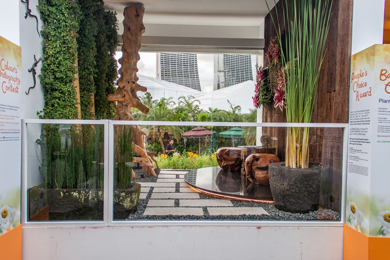 Balcony Garden At Sgf 2014 171 Esmond Landscape And