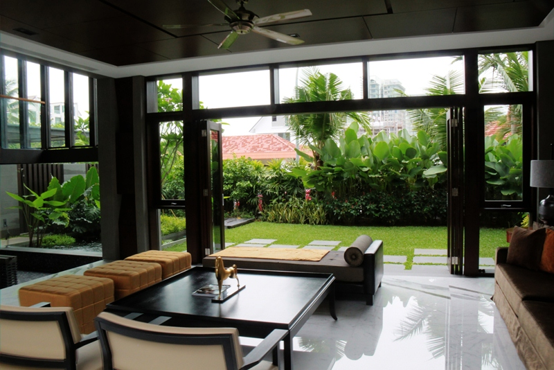 living room with garden frankel walk 171 esmond landscape and horticultural pte ltd 17518