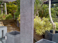 Single Wall Fountain with Base